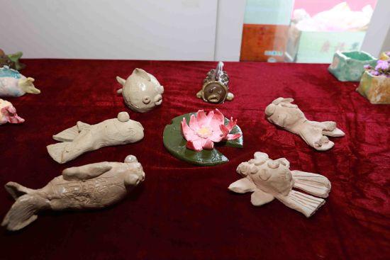 沈阳和平区小学生陶艺作品在北市美术馆展出图片