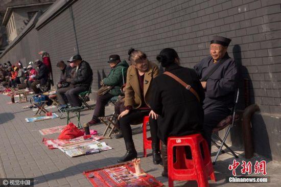 """长春现算命一条街 各路""""大仙&#x9"""