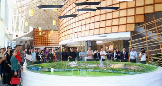 三亚海昌梦幻海洋不夜城,亦将18年年末在三亚未来旅游新中心的海棠湾