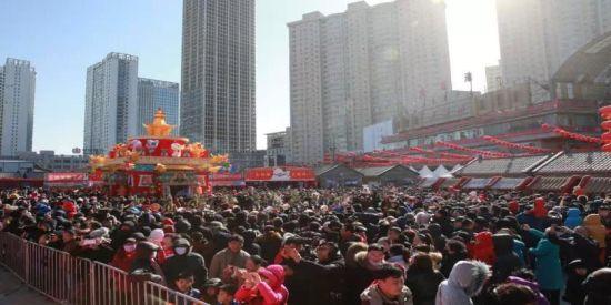 金沙国际娱乐线上赌场:第39届沈阳皇寺庙会圆满结束_日均客流17万余人次