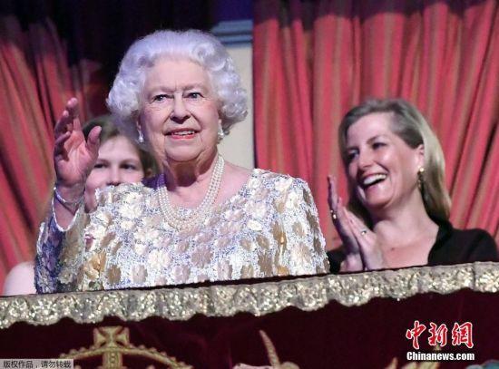 中国福利彩票双色球开奖结果:英女王_92岁生日__庆祝音乐会众星云集(组图)