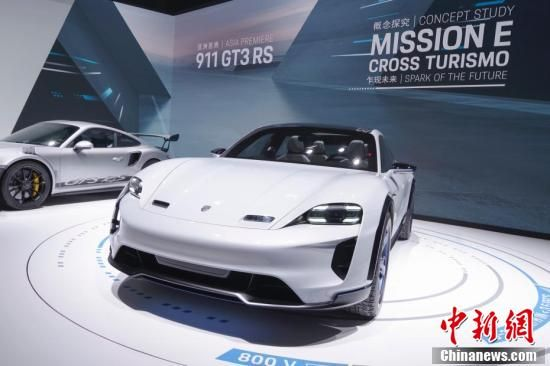 2018北京车展 多厂家新款电动汽车成亮点(组图)