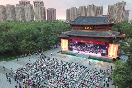 北京赛车每天盈利的人:浑河岸交响音乐节_沈阳最美声音