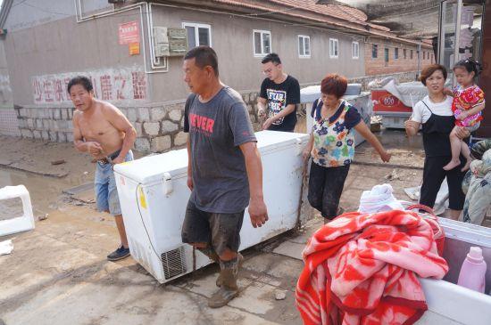 山东寿光洪灾 平衡机 动平衡机自然灾害