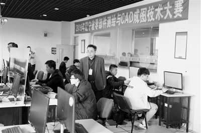 辽宁省中职生化工比拼CAD成图高手管道代表cad图中学校d120x5图片