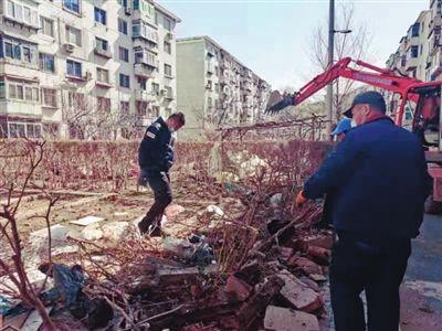 沈阳皇姑区8个老旧小区先拆违后改造
