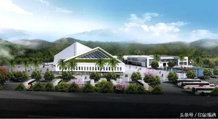 太姥山旅游集散中心 每年将带来一百多万人流量!