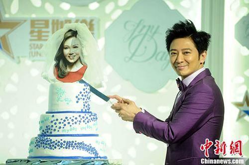 孙耀威迎娶女友 在美国洛杉矶注册结婚
