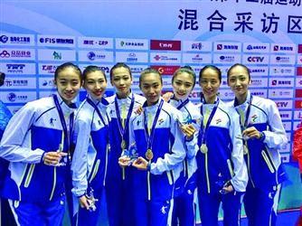 最美全运项目金牌被辽宁包圆