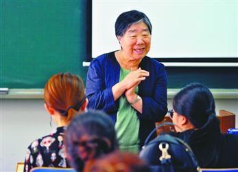 一堂上了36年的课――记辽宁师范大学教授杨丽珠