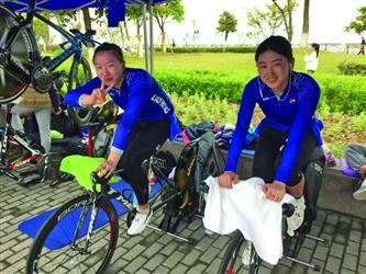 """辽宁""""自行车姐妹花""""助阵2017辽宁国际骑行节"""