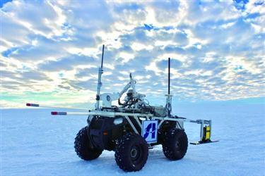 沈阳造机器人南极探冰25天走200公里