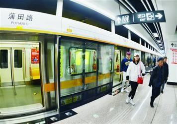 沈阳地铁二号线 北延线载客试运营
