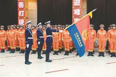 沈阳市消防救援支队:打造新时代让人民放心的铁军