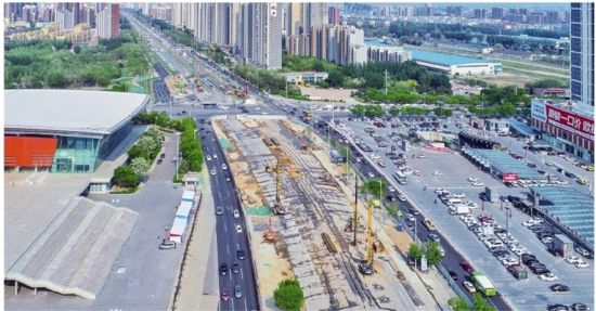 浑南大道快速路即将开始基础施工