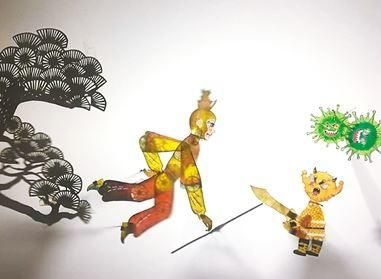 皮影(ying)�赢�《�O悟空大�鸩《�(du)妖》�上播(bo)出