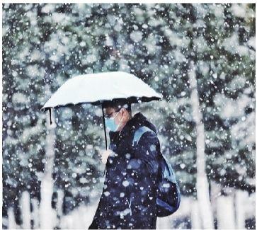 今天降(jiang)雪�Y束 ��(wen)度先降(jiang)後升