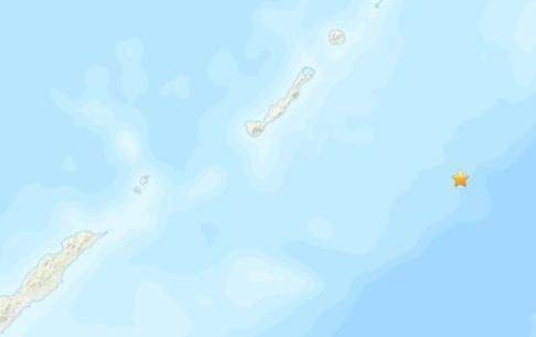 千�u群�u附近海域�l(fa)生5.2�地震 震源深度10千米