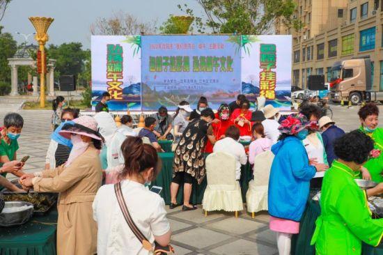 沈阳辽中区:邻里情浓 共度端午佳节