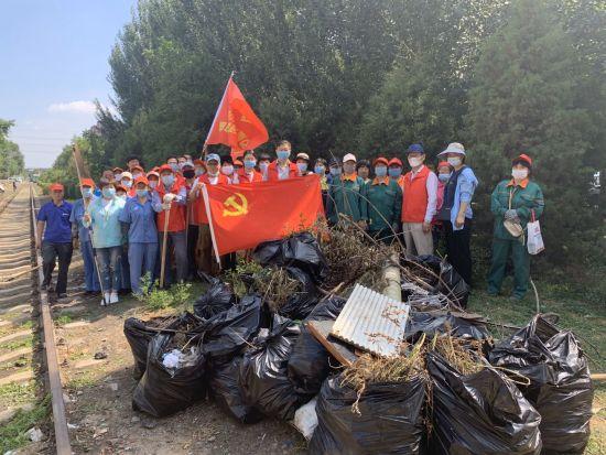 清理小区卫生死角 沈阳铁西7千名志愿者再发力