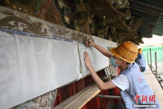 沈阳故宫举行公共观摩体验活动