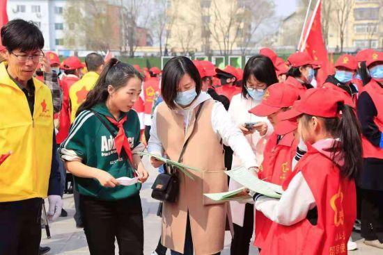 沈阳沈北新区举行城市精细化管理志愿服务活动